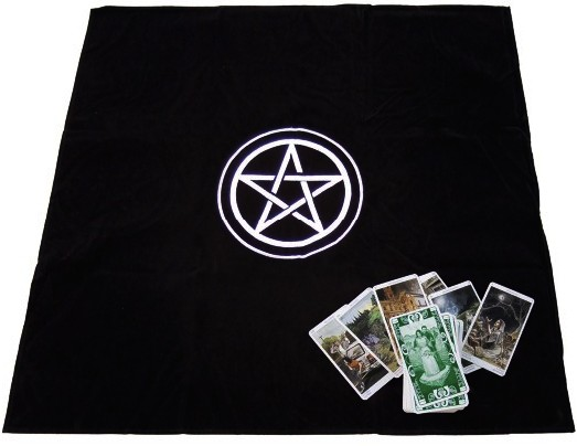 Vykladací ubrus - Pentagram