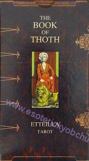 KNIHA THOTHOVA : TAROT ETTEILLA - The Book of Thoth (Etteilla Tarot)