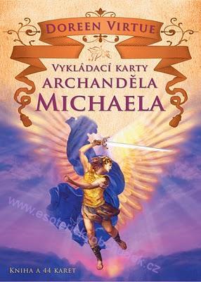 VYKLÁDACÍ KARTY ARCHANDĚLA MICHAELA, Doreen Virtue, Ph.D. (NOVINKA)