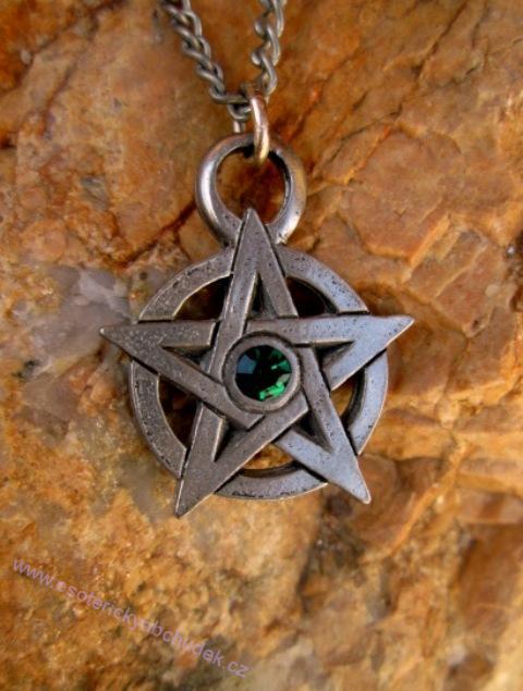 Zdobený pentagram - Podpora záměru