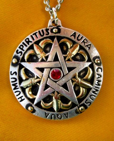 Pentagram Sira Gawaina - pro stabilitu a vnitřní harmonii