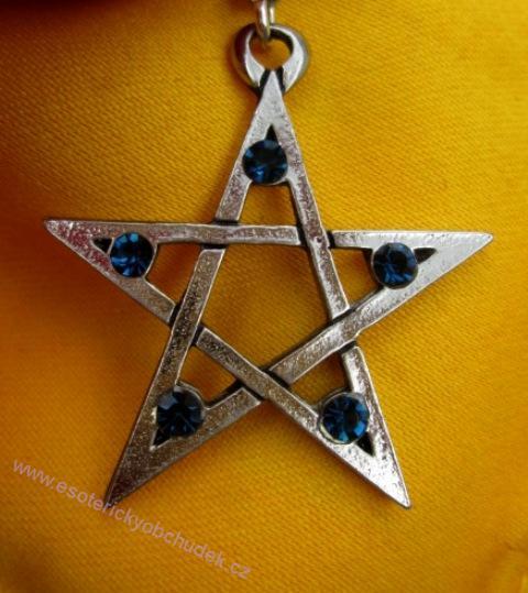 Otevřený pentagram - pro pozitivní magické účely