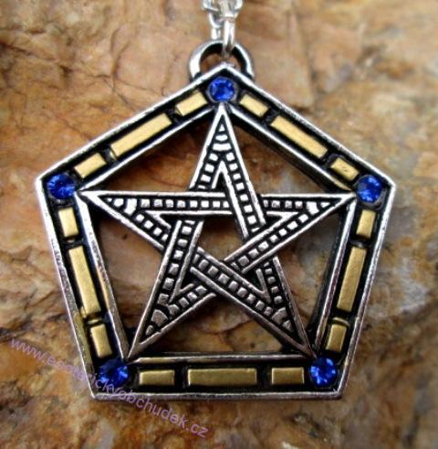 Pentagram Pentalpha - harmonie a stabilita