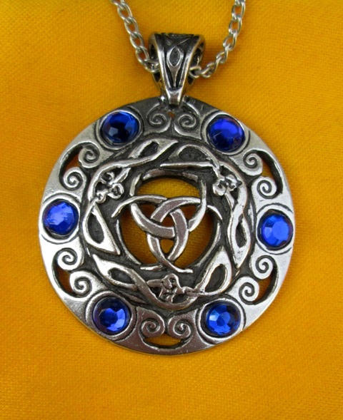 Amulet Měsíční Bohyně - Klenot pro jasnovidnost a psychické schopnosti
