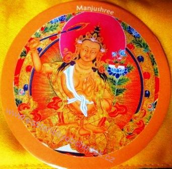 Manjushree - samolepka