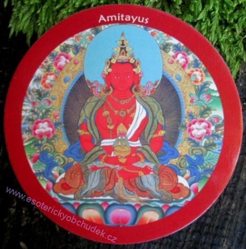 Samolepka Amitajus - buddha dlouhého života