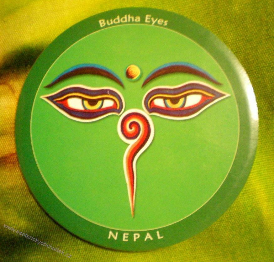 Samolepka Milující oči - symbol soucitu