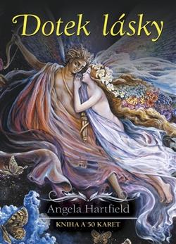 DOTEK LÁSKY kniha a 50 vykládacích karet Hartfield Angela