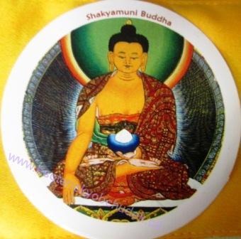 Samolepka Buddha Sakjamuni