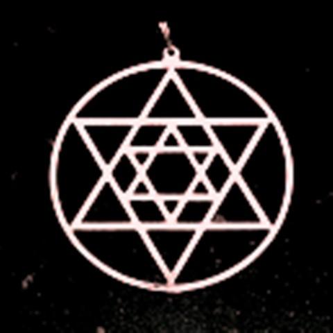 Přívěsek Davidova hvězda (hexagram)