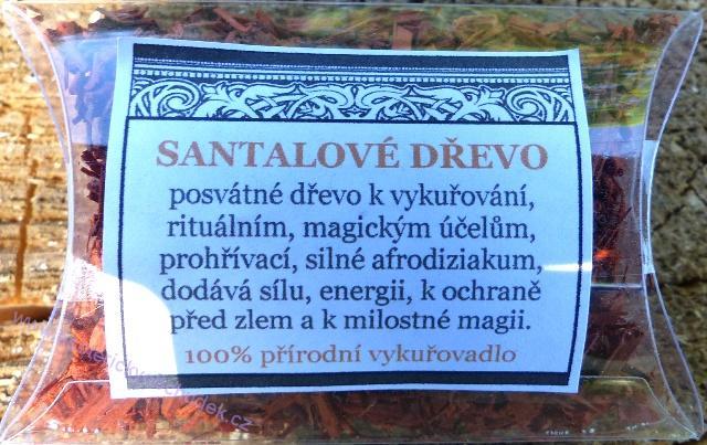 Vykuřovadlo - santalové dřevo 30 ml