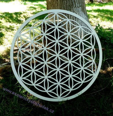 c84c66bf7 Květ života - dřevěný symbol (topol) 50 cm - není skladem - na objednávku