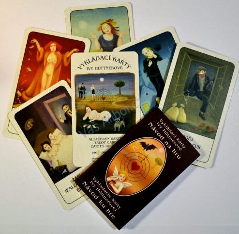 Vykládací karty Ivy Hüttnerové