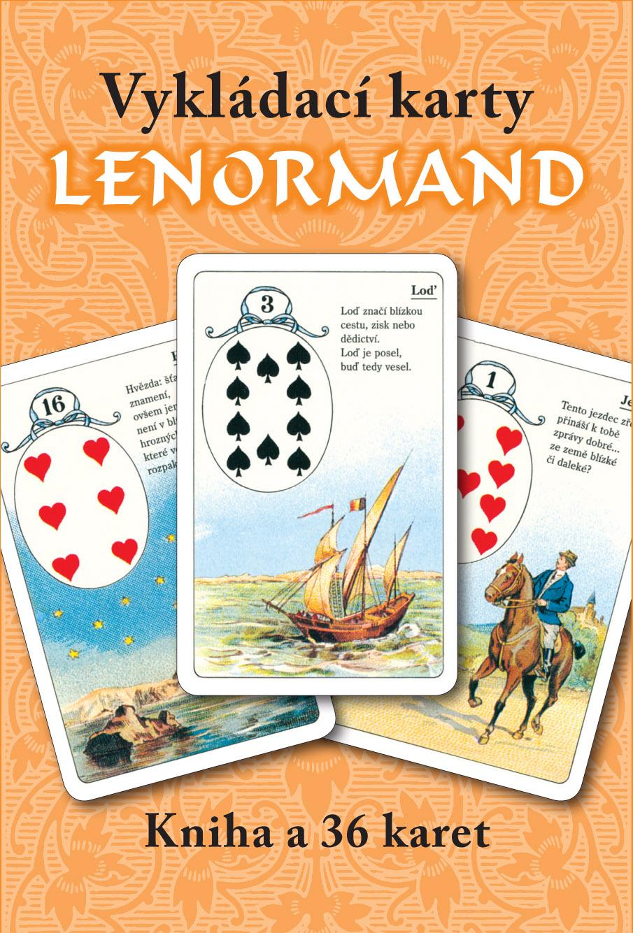 LENORMAND - vykladací karty