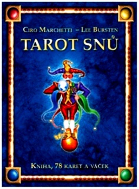 TAROT SNŮ kniha 78 karet+váček