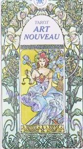SECESNÍ TAROT - Tarot Art Nouveau