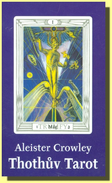 VELKÝ THOTHŮV TAROT- Aleister Crowley (10 x 15 cm)