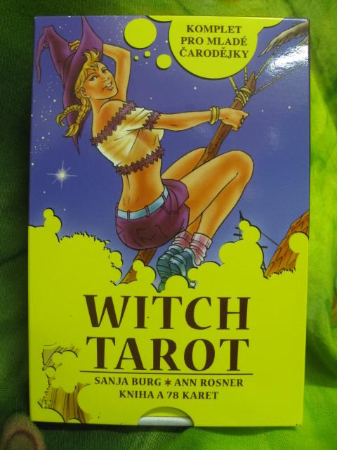 ČARODĚJNICKÝ TAROT - WITCH TAROT - Kniha a 78 karet