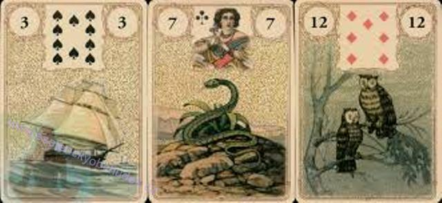 Golden Lenormand Oracle - Zlatá Lenormand