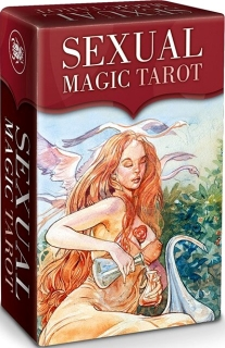 Tarot sexuální magie* - MINI TAROT - Tarot of sexual Magic - autor Laura Tuam & Mauro De Luca